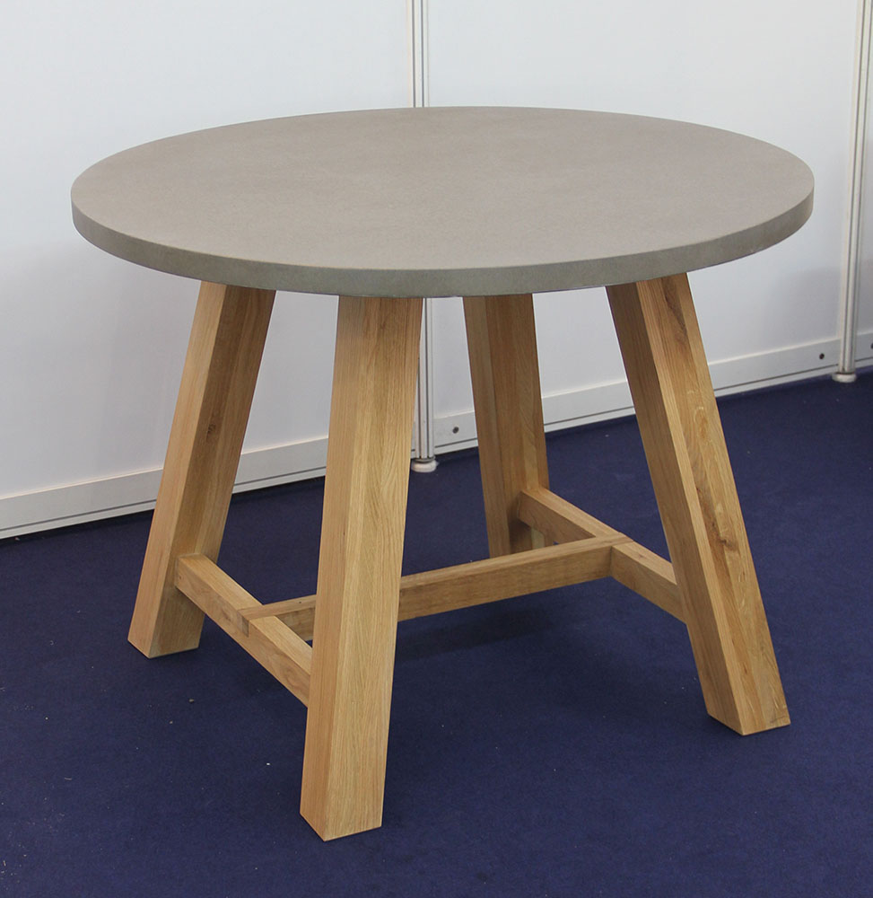 Fresno Round Dining table 100cm